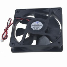 10Pcs Gdstime 12025 12cm 120mm DC 48V 0.1A Dual Ball Cooling Cooler Fan