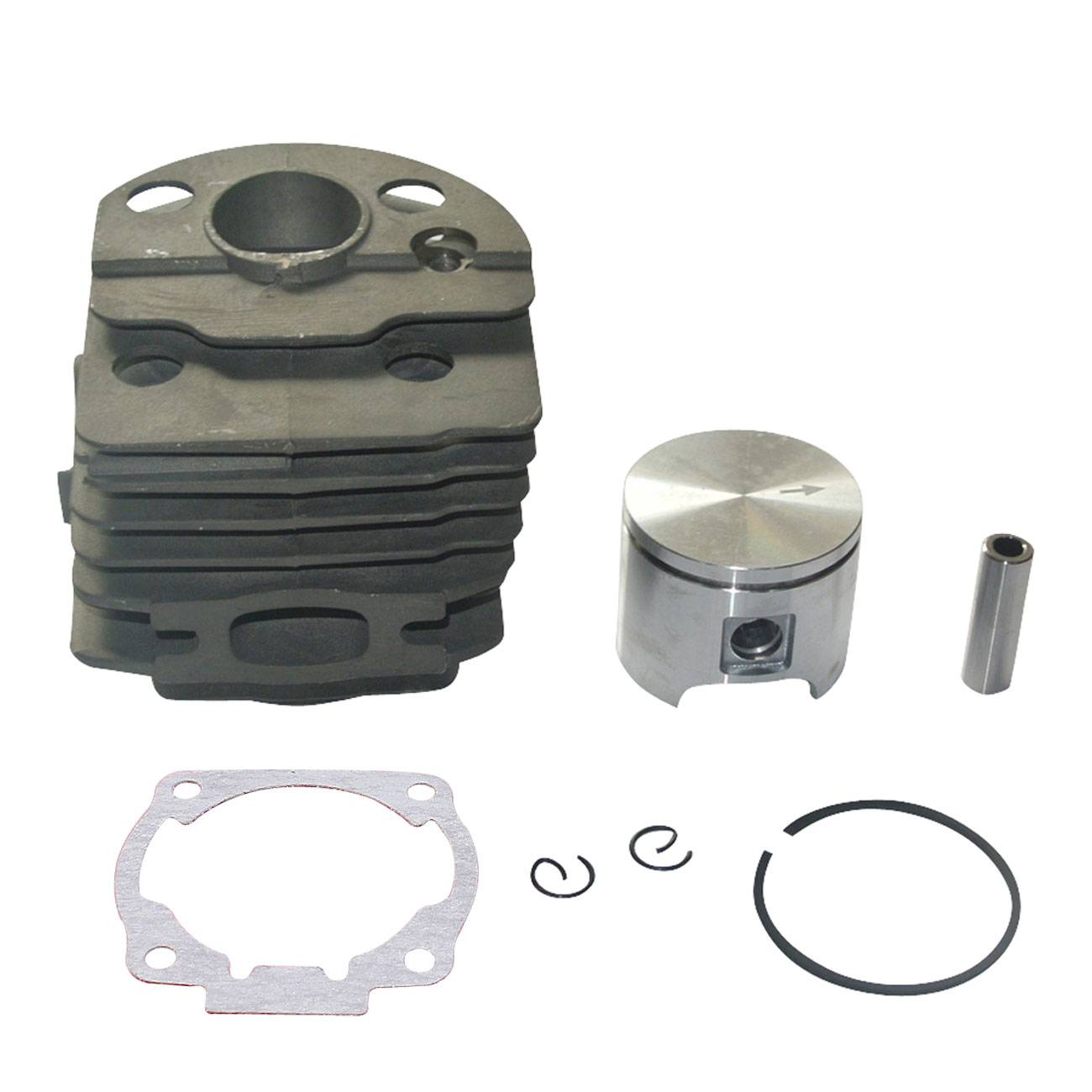 Motore Motore Kit Cilindro Pistone Kit w/Anelli 46 MM Per Husqvarna 51 55 ChiansawMotore Motore Kit Cilindro Pistone Kit w/Anelli 46 MM Per Husqvarna 51 55 Chiansaw