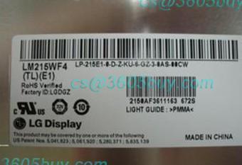 Máquina um pedaço de tela de lcd lm215wf4 tle1 lm215wf4 tle1 tela perfeita