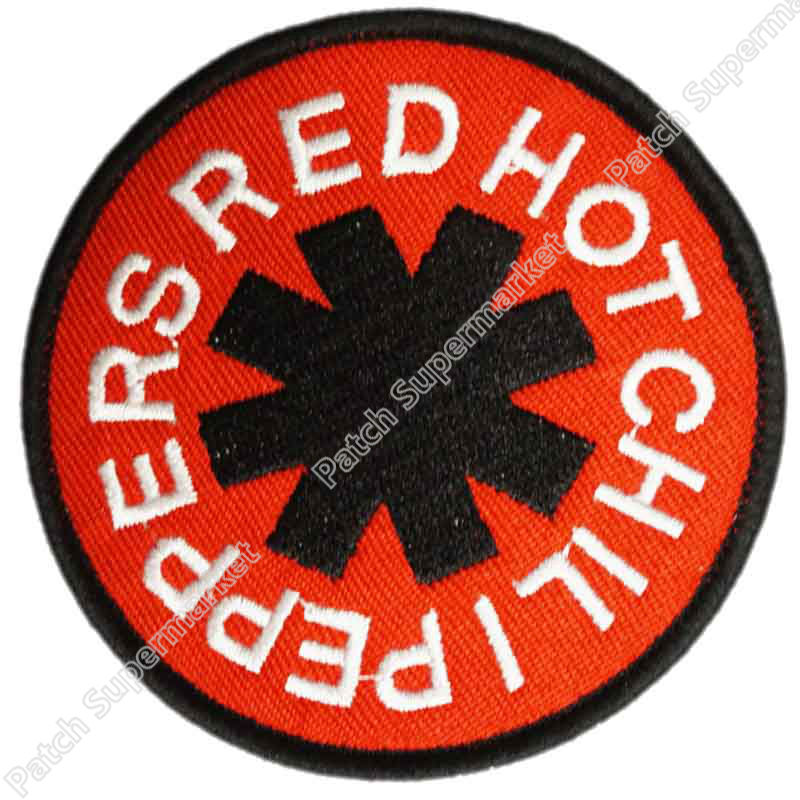 RED HOT CHILI PEPPERS Music Band Metal Iron On Sew On Patch Tshirt TRANSFER MOTIF APPLIQUE