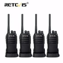4 unids RT21 Retevis UHF Walkie Talkie 2.5 W 16CH 1300 mAh Energía Scrambler VOX Manos libres de Radio-Aficionado Hf Transceptor De Radio cb