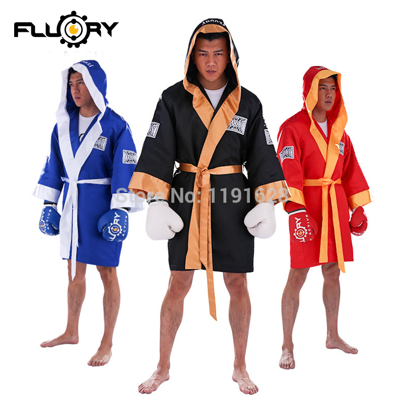 New Style  Boxing Robes  Muay Thai Cloak  Kickboxing Uniforms For All