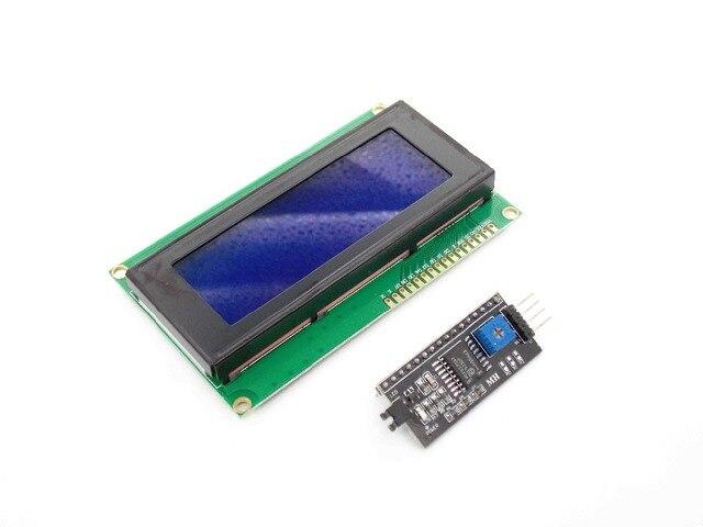 IIC/I2C/TWI Serial LCD 2004 20x4 Display Shield Blue Backlight