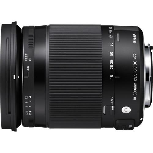 Sigma 18-300mm f/3.5-6.3 DC MACRO OS HSM Contemporary Lens for Nikon D3300 D5300 D90 D7000 D7100 D300