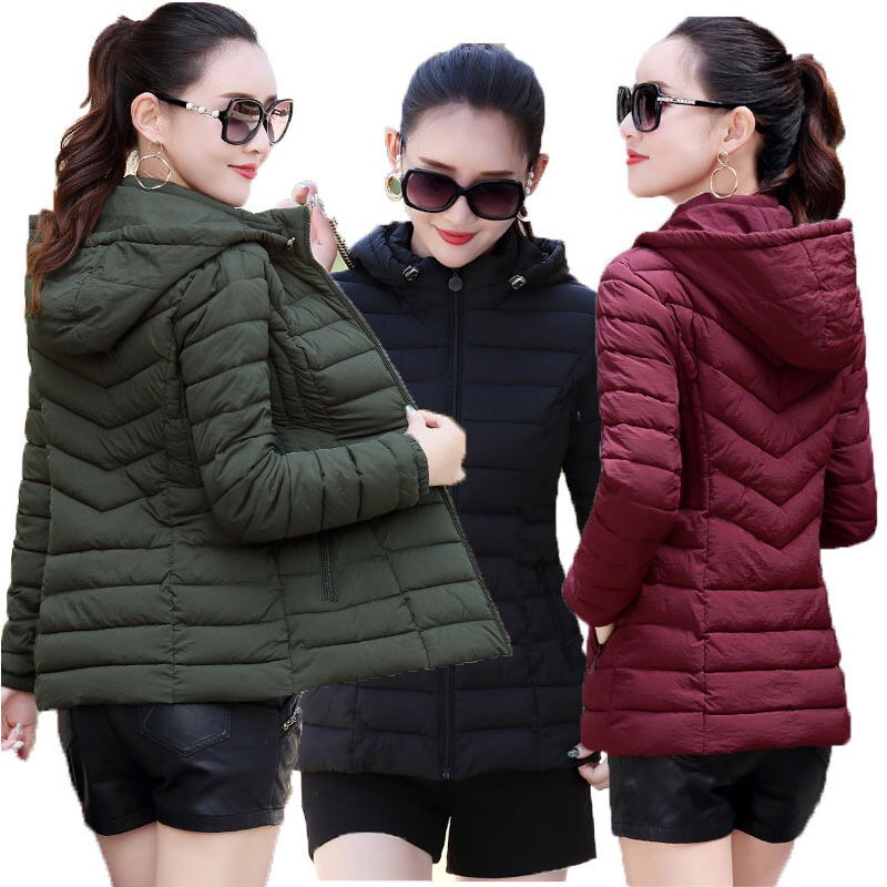 New 2019 Winter Jacket Women Thick Snow Wear Winter Coat Lady Clothing Female Jackets   Parkas   chaqueta mujer Women Down Jacket