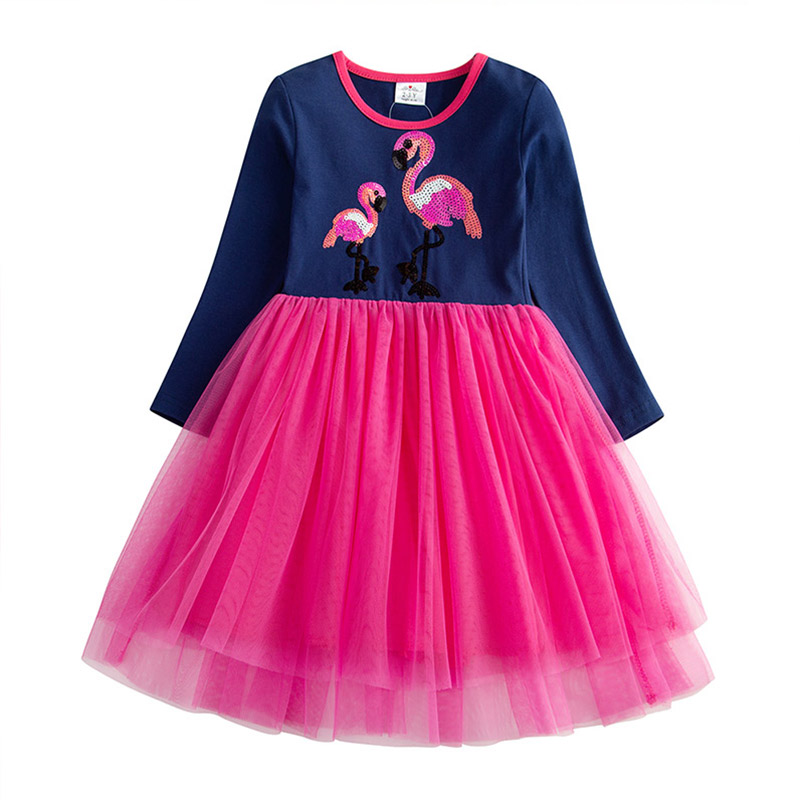 HTB19.SBQSzqK1RjSZFHq6z3CpXai DXTON 2018 New Girls Dresses Long Sleeve Baby Girls Winter Dresses Kids Cotton Clothing Casual Dresses for 2-8 Years Children