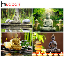 Huacan Diamond Painting Full Square New Arrival Religion 5d Embroidery 2019 Buddha Mosaic Sale Home Decoration