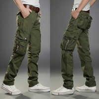 Pantaloni tattici Degli Uomini di Esercito Cargo Pantaloni Pantalon Homme Hip Hop Militare Pantaloni Uomo Abiti Da Lavoro Streetwear Vestiti Per Gli Uomini