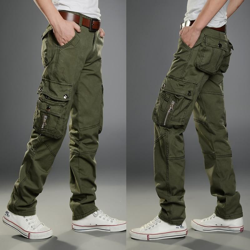 Pantalones Tacticos De Estilo Hip Hop Para Hombre Ropa De Trabajo Militar Para Correr Pantalones Informales Aliexpress
