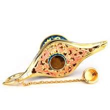 Fairy Tale Aladdin Magic Lamps Tea Pot Genie Lamp Toys Home Decor