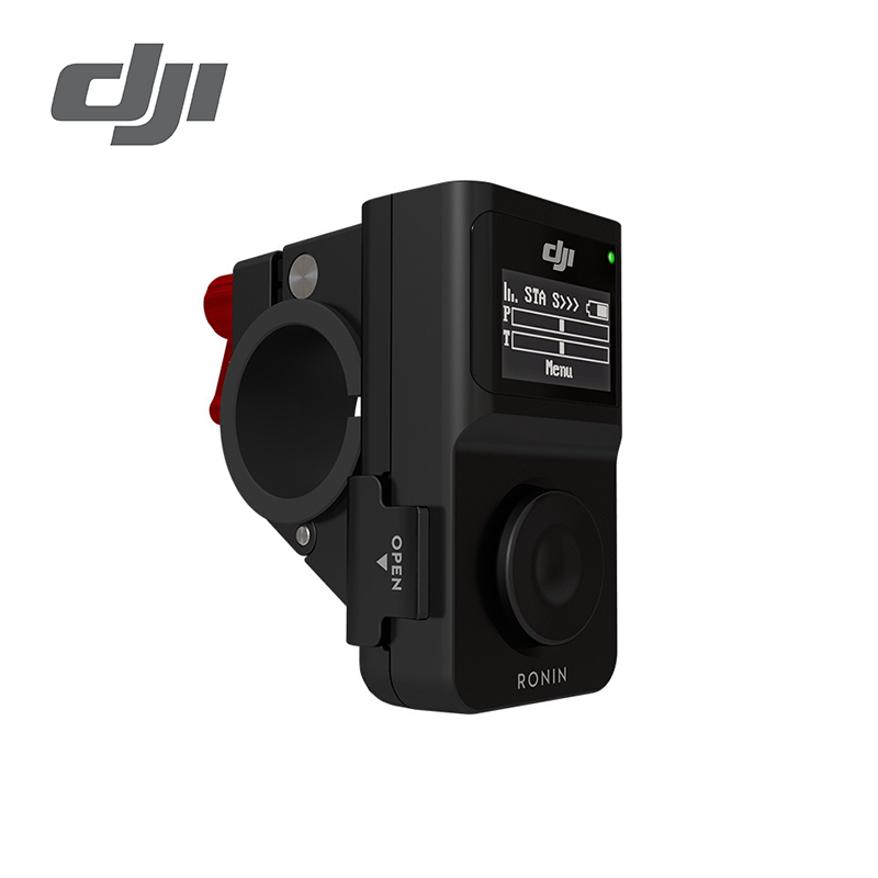 DJI Wireless Thumb Controller For Ronin M And Ronin MX Simple To Setup And Use Long Battery Life And Range Clear OLED Screen