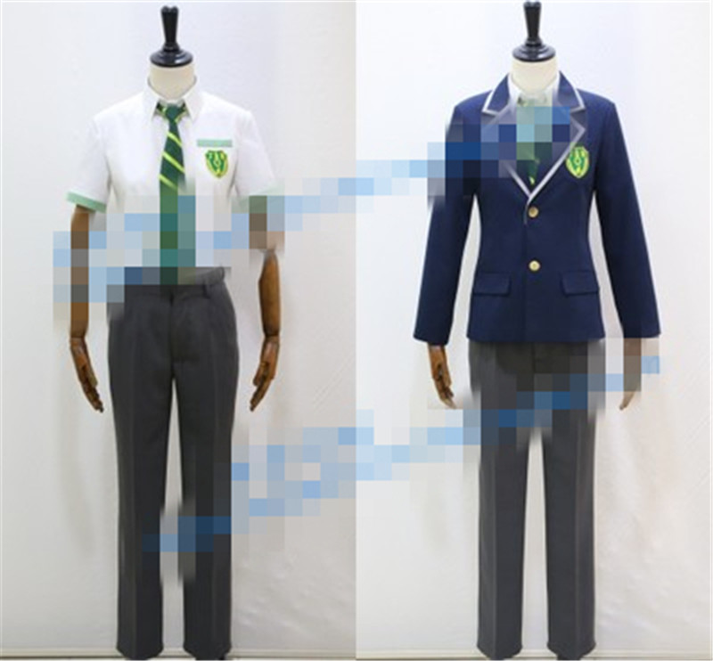 Hyperdimension Neptunia IF Uniform Cosplay Clothing Cos Costume:Free shipping