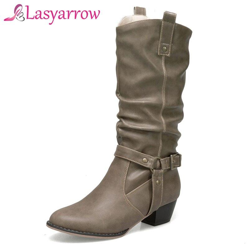 Lasyarrow Western Style Autumn Winter