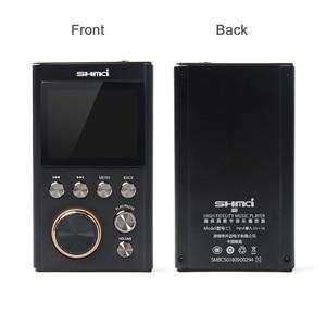 Image 4 - SHMCI C5 HIFI MP3 DSD מקצועי MP3 HIFI נגן מוסיקה תמיכת אוזניות מגבר DAC wm8965 DSD256 עם OLED כמו ZiShan DSD