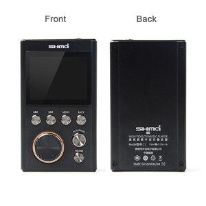 Image 4 - SHMCI C5 HIFI MP3 DSD Profesyonel MP3 HIFI Müzik Çalar Desteği kulaklık amplifikatörü DAC wm8965 DSD256 OLED Olarak ZiShan DSD