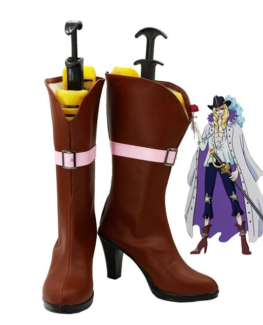 One Piece Anime Cavendish Cosplay Shoes Boots Custom Made