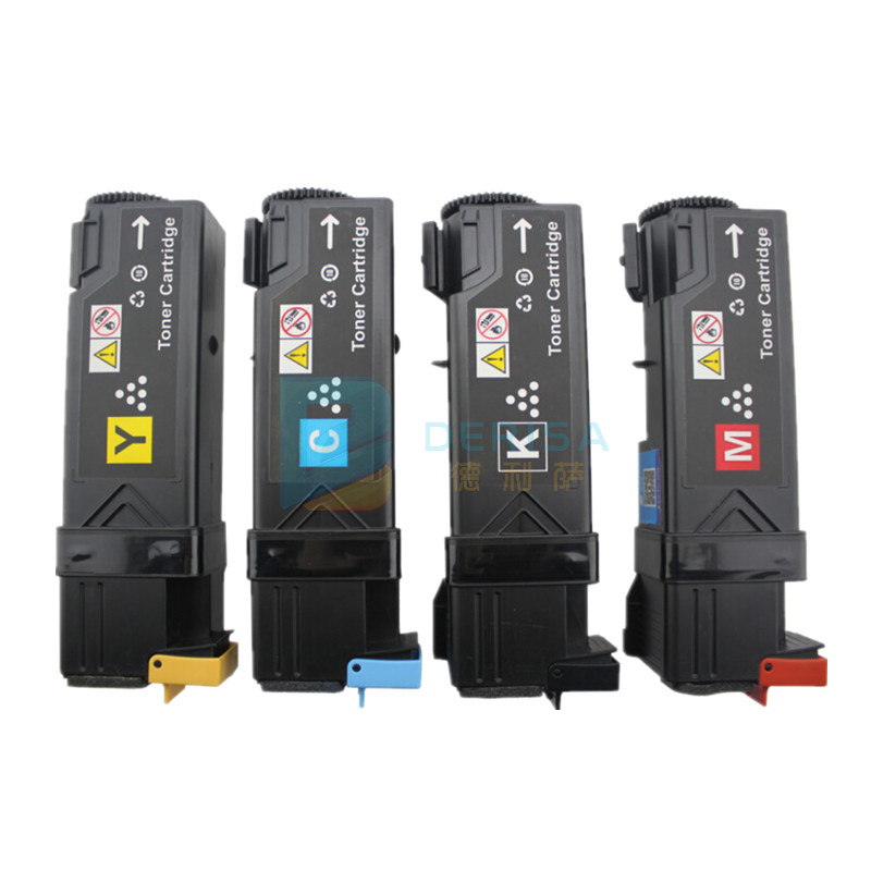Europe use for Xerox Phaser 6125 color toner cartridge for 106R01334 106R01333 106R01332 106R01331 Free shipping