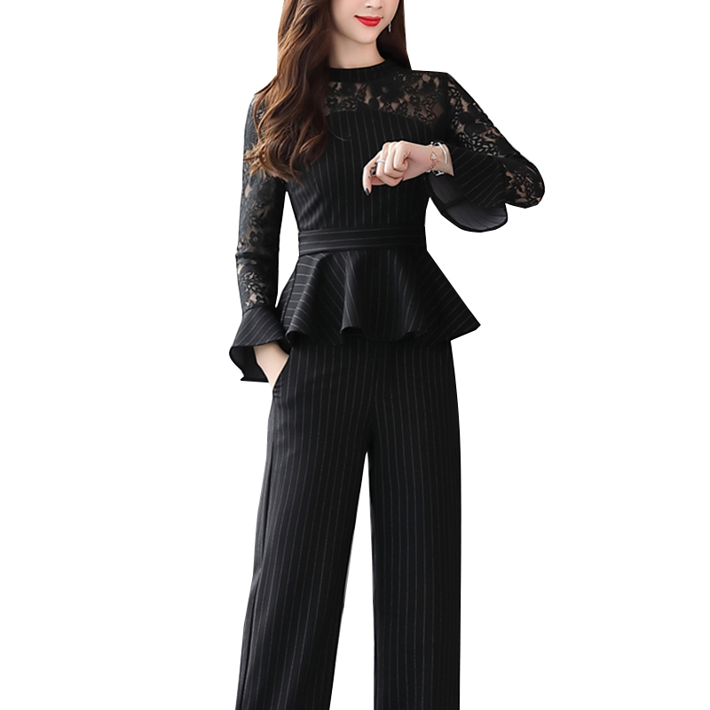 Fashion Womens Formal Office Causal Wear Trouser Suit ...