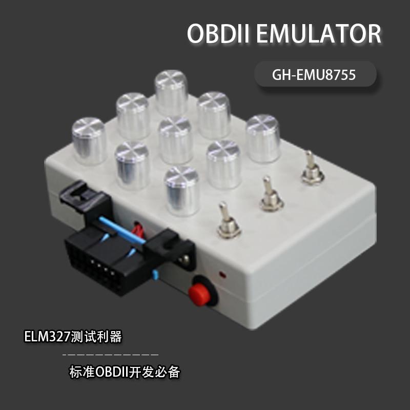 The New ELM327 OBD Development Tool And The Development Of The Vehicle ECU ECU Simulator Oil Consumption Detector