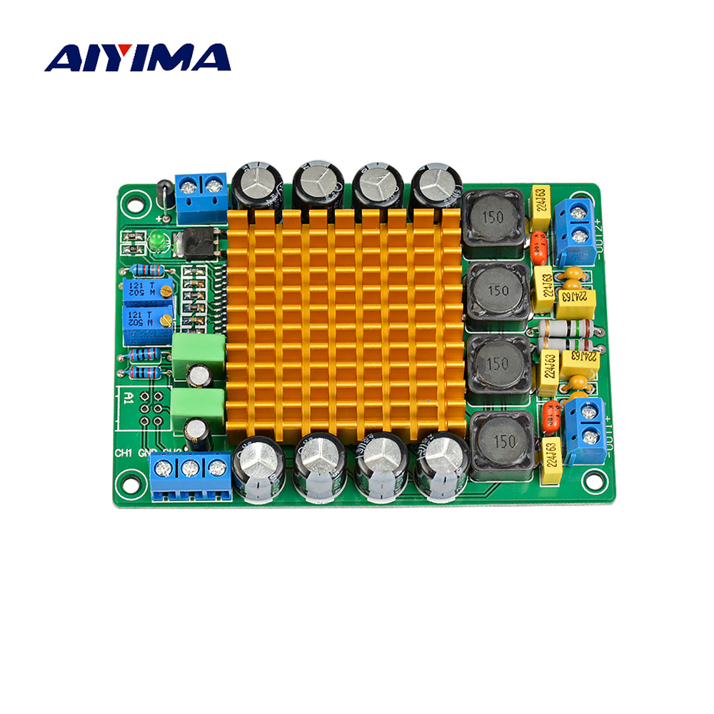 Aiyima TK2050 Digital Audio <font><b>Amplifier</b></font> Board Class T Stereo Dual Channel <font><b>HIFI</b></font> High Power <font><b>Amplifier</b></font> Board <font><b>2X50W</b></font> image