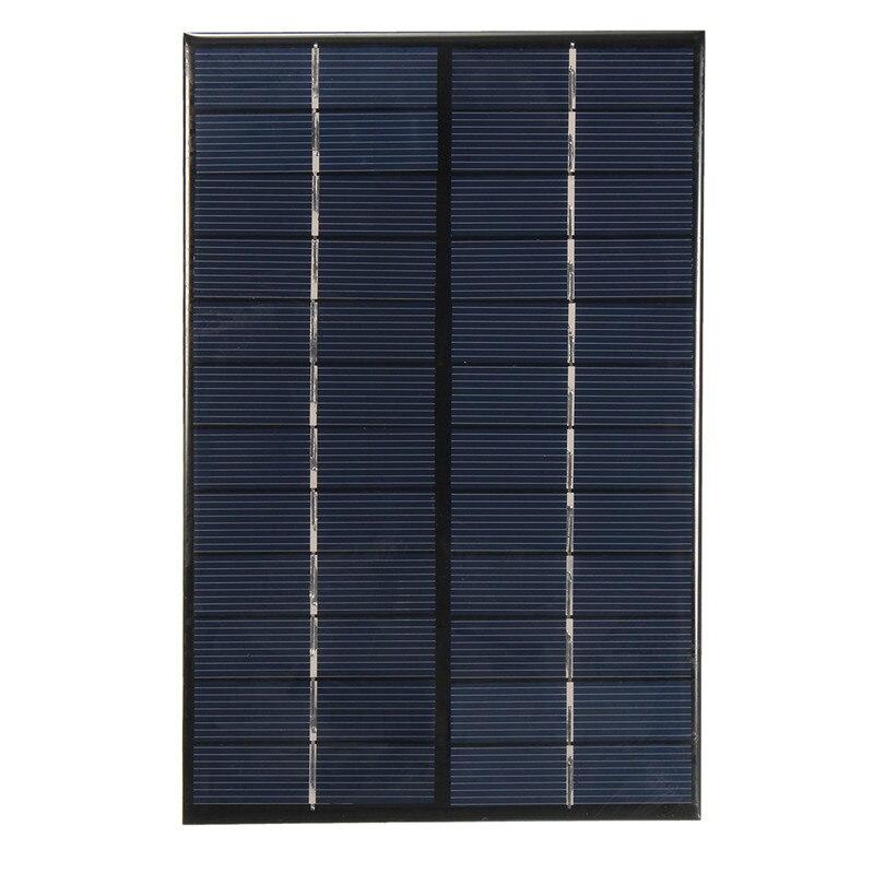 200 *130*3 mm 4.2W 12V/18V Polycrystalline Silicon Solar Panel Portable DIY Solar Module System Solar Cells Charger