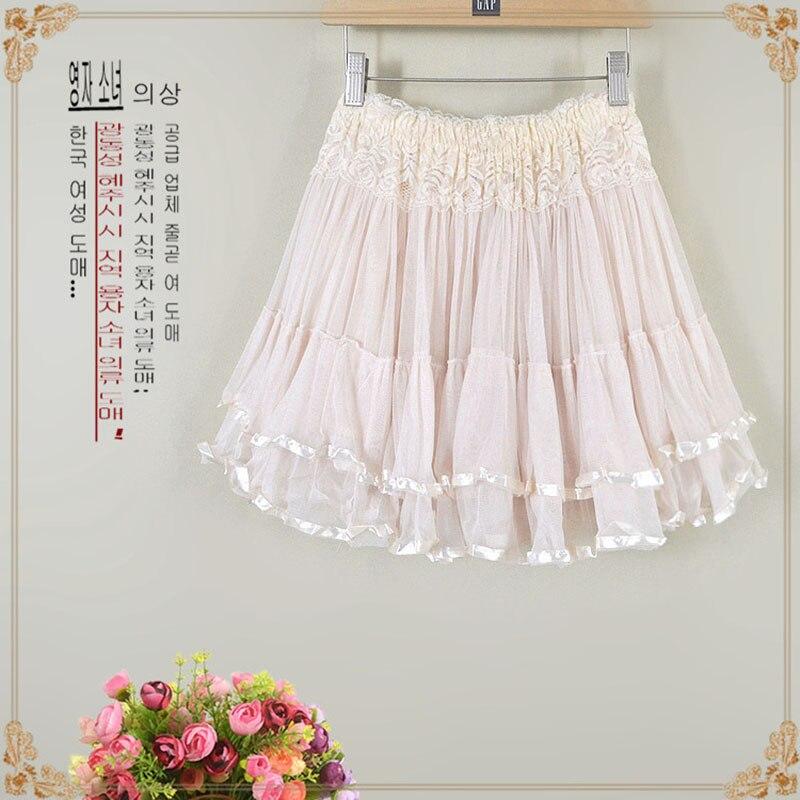 2019 Style Women 39 s New Skirt Bud Silk Gauze Skirt Fluffy Swing Skirt Elastic High Waist Skirt A Line Natural in Skirts from Women 39 s Clothing