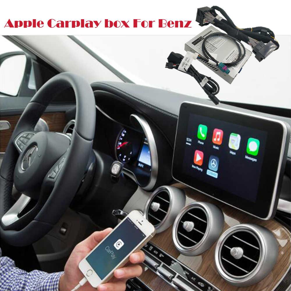 2019 Новый IOS Benz CarPlay автомобиль Apple Airplay CarPlay коробка для Benz A B C CLA GLA GLC GLE класс 2015-2017 NTG 5. 0 iOS