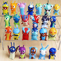 New 24 models Anime Cartoon figures Slugterra Mini PVC Action Figures Toys Dolls gifts for Child free shipping
