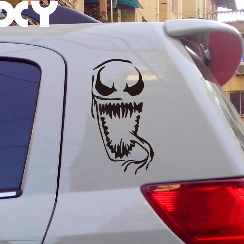 Xy Terror Venom Car Rear Window Stickers Reflective Type