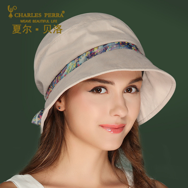 1b8416ca86f New Fashion Summer Sun Cap Women Spring New Hat Female Fisherman Bow Cap  Thin Casual Korea