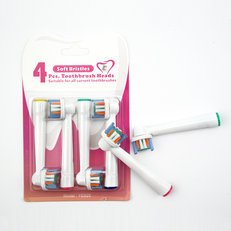 4 pcs Replacement Brush Heads Electric Toothbrush For Oral B/B raun / SmartSeries/TriZone/Advance Power/Pro Health/Triumph/3D