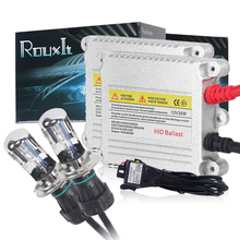 цена на 35W hid kit xenon H4 bi xenon H4 bixenon kit 4300K 5000K 6000K 8000K xenon kit hid conversion kit headlight bulbs