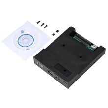 1pcs Black 5V 3.5″ 1.44MB floppy disk drive emulator to USB Flash Drive Simple plug