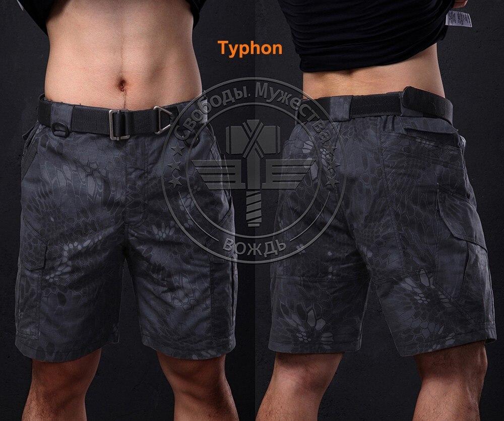New Wolf Enemy Brand Kryptek Nomad Half ,tactical Cargo Camo Short