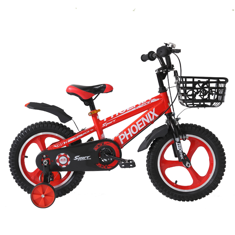 A14 Children <font><b>Bike</b></font> Double Disc Brake Shockingproof Frame Magnesium Alloy Kids bicycle kids image