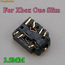 ChengHaoRan 10 шт. 100 шт. разъем для наушников Разъем Порт для XBOX ONE S тонкий контроллер 3,5 мм разъем для гарнитуры Разъем