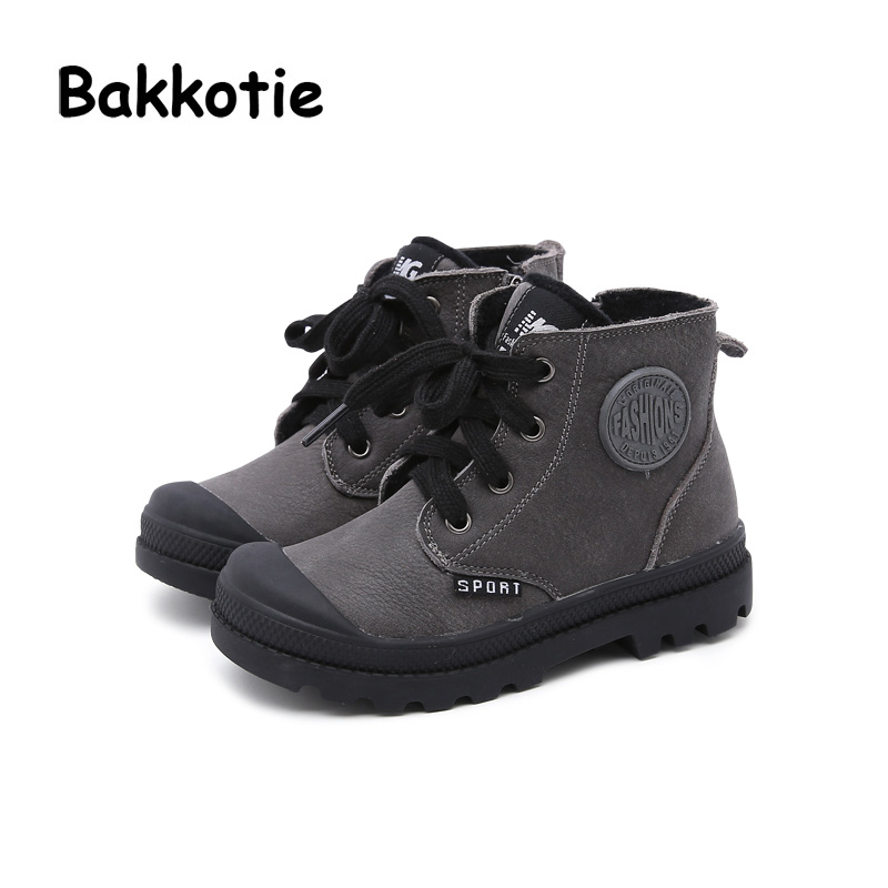 Bakkotie 2017 New Fashion Child Winter Autumn Baby Boy Casual Martin Boot Sneaker Comfort Kid Brand Leisure Shoe Breathable bakkotie 2017 new fashion spring autumn baby boy casual sport shoe brand leisure trainer breathable sneaker girl first walkers