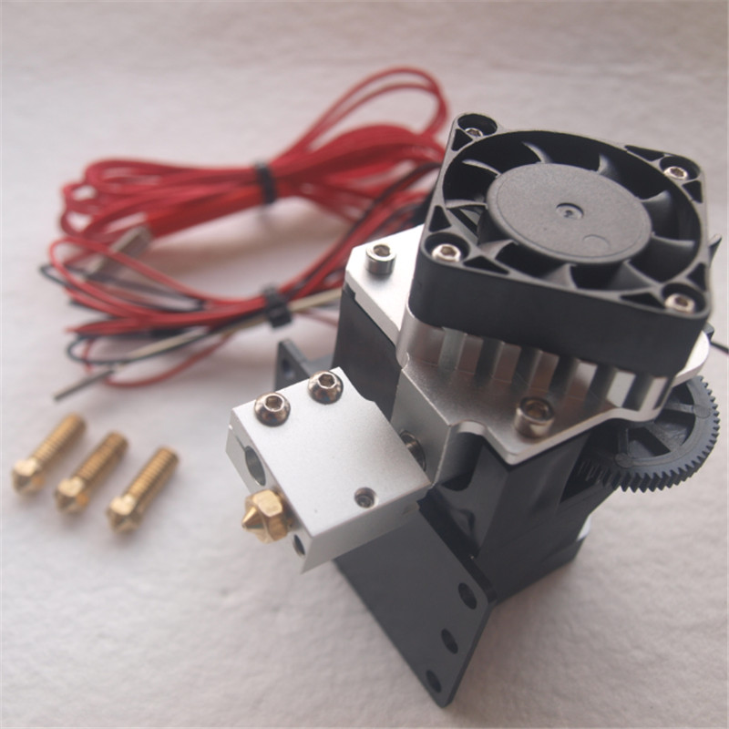 Funssor Titan Aero extruder kit for 1.75mm/3mm 12V/24V 40W Titan Aero Volcano hotend extruder set for reprap 3D printer
