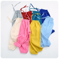 Girl Children S Garment 2016 Summer Pants New Product Girl Solid Color Chalaza Bloomers Defence Leisure