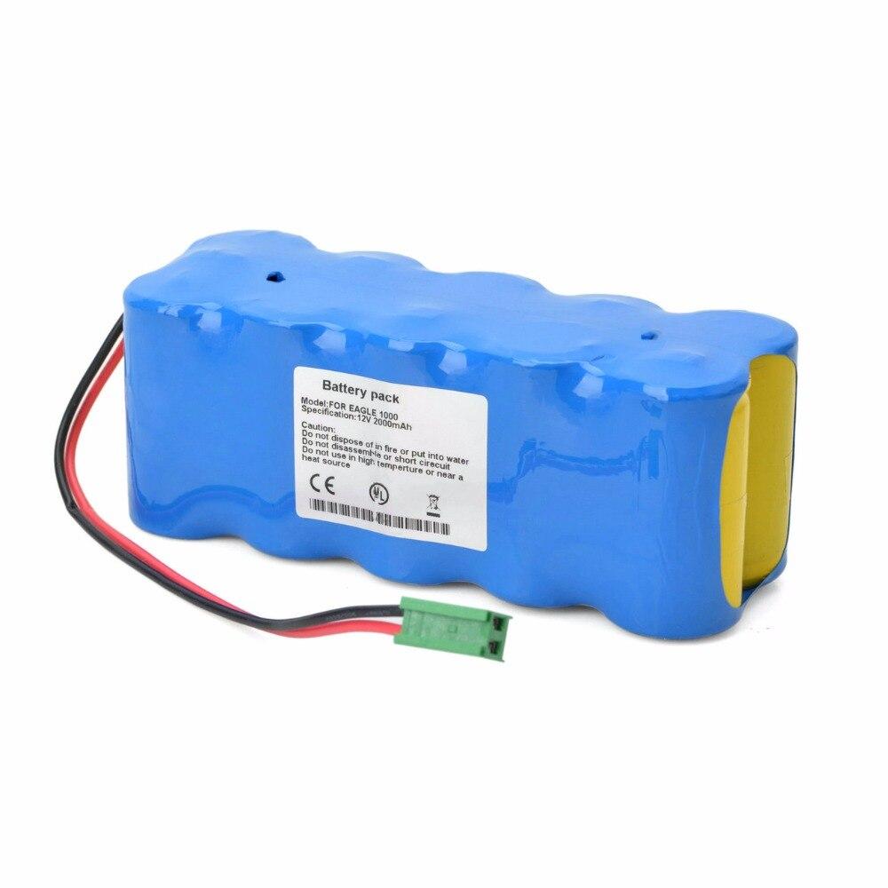 2000mAH New monitor ECG Battery for GE EAGLE 1000 EAGLE 1006 Eagle 1008 1009 30344409