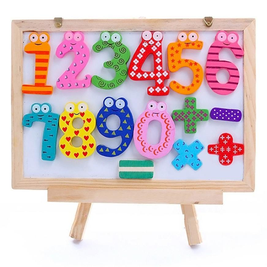 15pcs Colorful Teaching Magnetic Letters Numbers Fridge