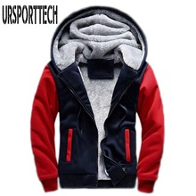 Hot Sale Mens Hooded Casual Brand Hoodies Clothing Winter Thickened Warm Coat Jacket Male M-5XL Sweatshirts Outwear