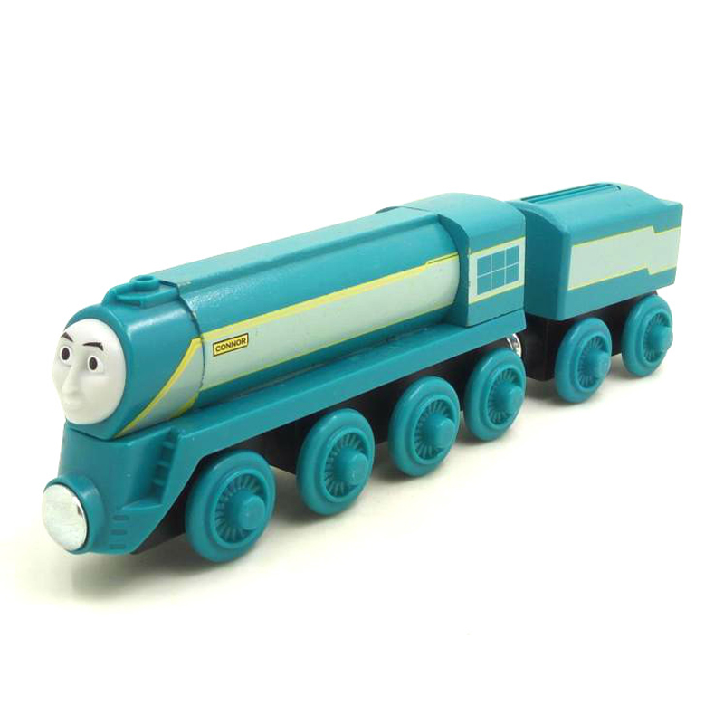 W52 RARE NEW CONNECTOR AND Tender Original Thomas And Friends Wooden Magnetic Railway Train Model Engine Boy / Baby Toys Gift