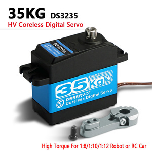 Image 2 - 1X سيرفو 35 كجم عزم دوران عالية Coreless محرك معزز رقمي ومقاوم للماء DS3235 مضاعفات اردوينو سيرفو للروبوتية لتقوم بها بنفسك ، سيارة RC