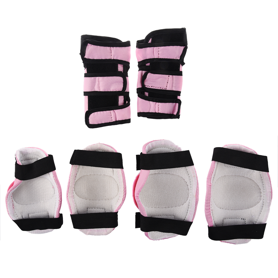 New Sale Boys Girls Childs Children Skate Cycle Knee Set Elbow Wrist Safety Pads Kids