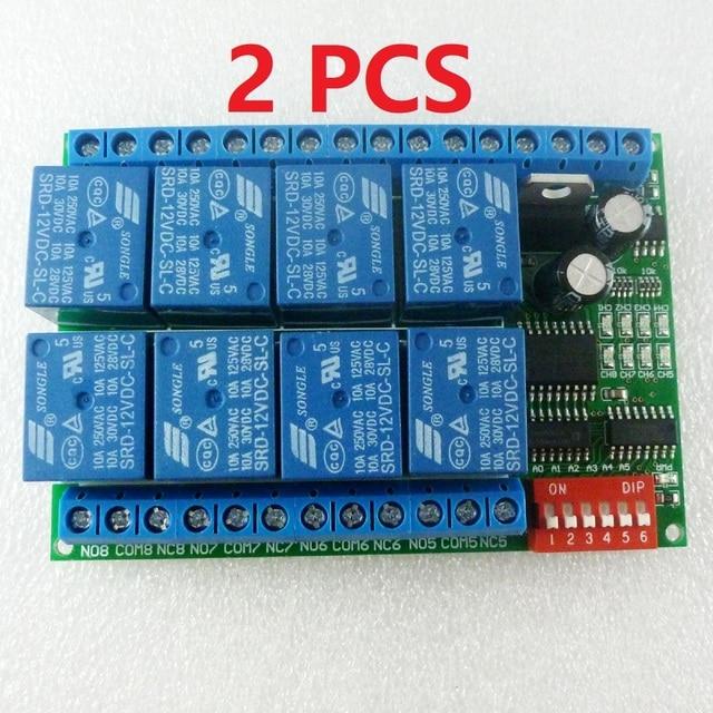 Aliexpress.com : Buy 2 PCS 8 Channel DC 12V RS485 Relay Module ...
