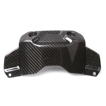 Motorcycle Carbon Fiber Front Tank Protection Cover Fairing Accessories For Yamaha MT09 FZ09 MT 09 FZ 09 2014 2015 2016 2017 16