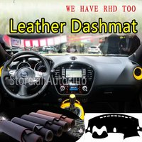 For Nissan Juke 2013 2015 2016 2017 2018 2019  Leather Dashmat Dashboard Cover Dash Carpet Custom Car Styling sunshade LHD+RHD