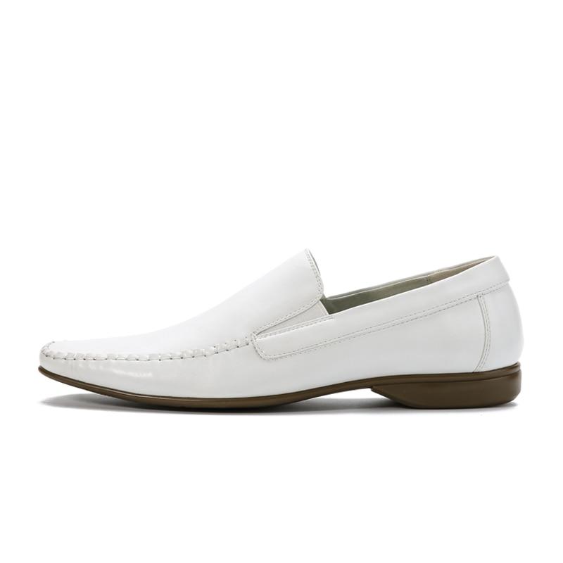 Aliexpress.com : Buy Men White Dress Shoes Spring New Men's Slip ...