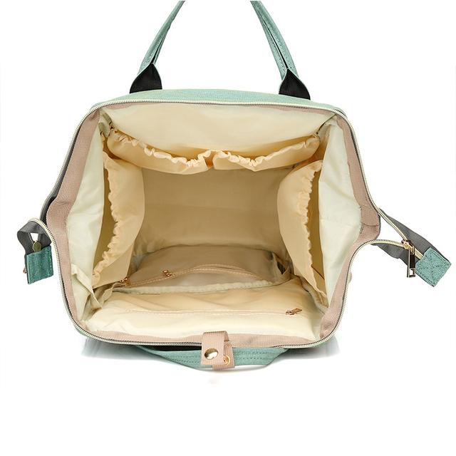 Multi-Function Designer Diaper Bag
